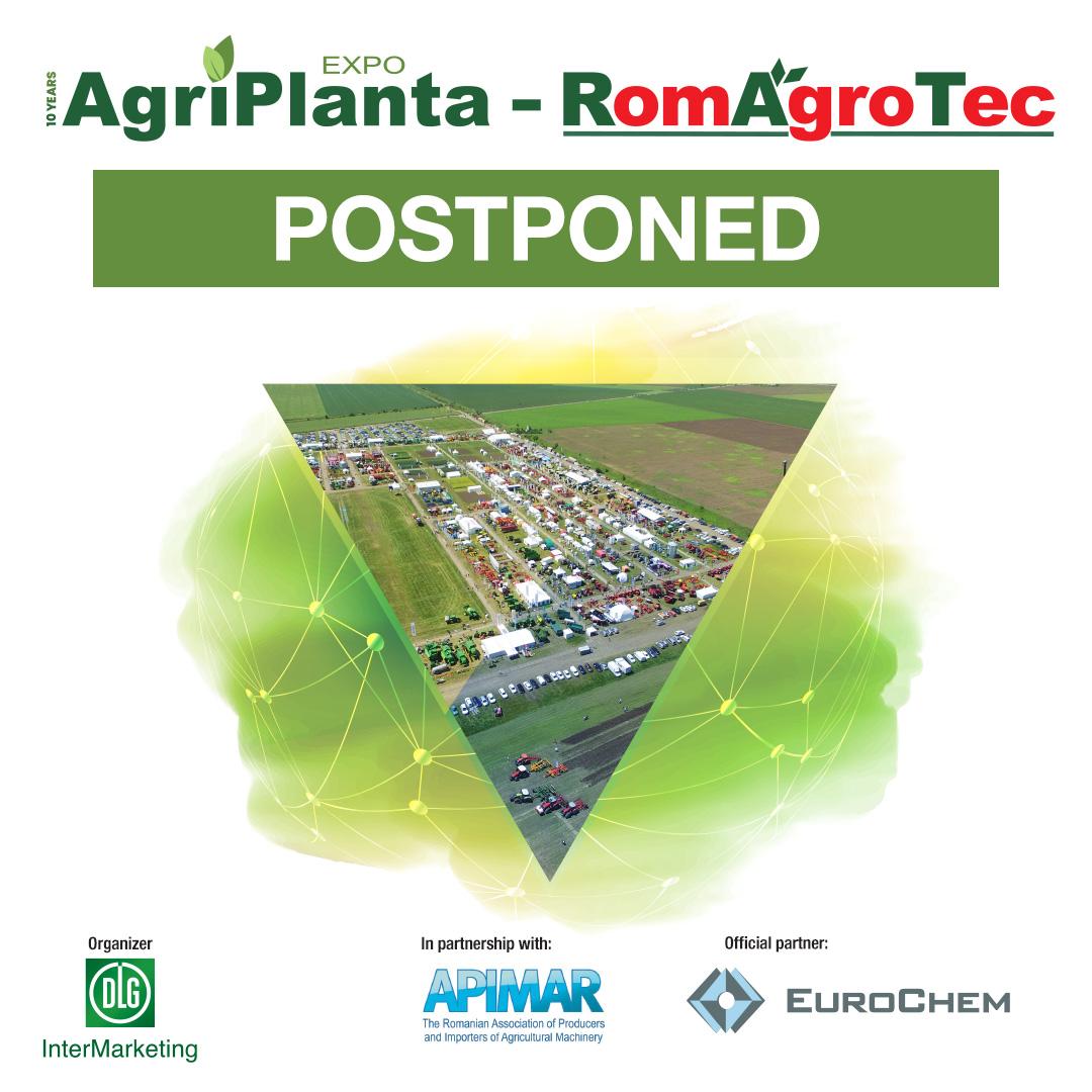 AgriPlanta_RomAgroTec 2020_Postponed